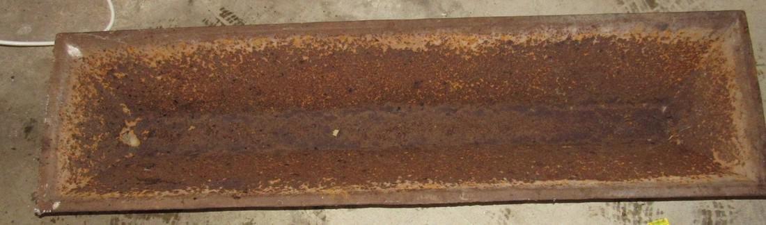 Pig Trough / Cast Iron Planter - 2