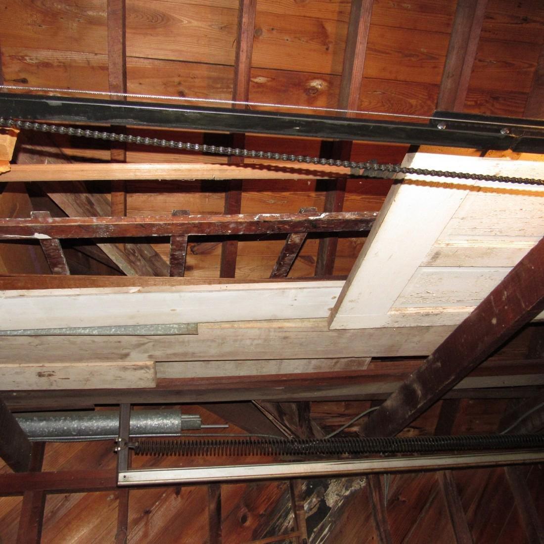 Contents of Top of Garage Mower Wood Door - 2