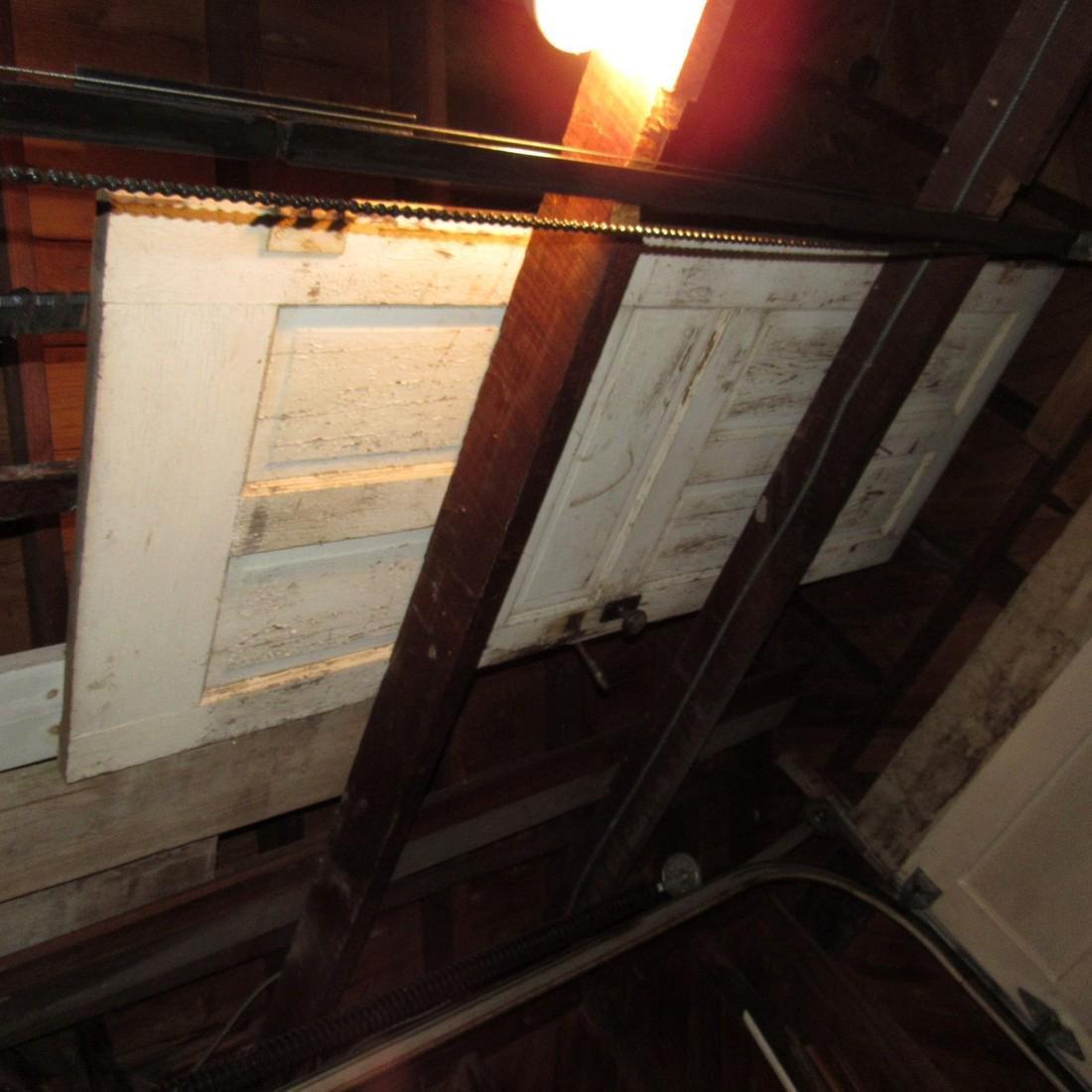 Contents of Top of Garage Mower Wood Door - 3