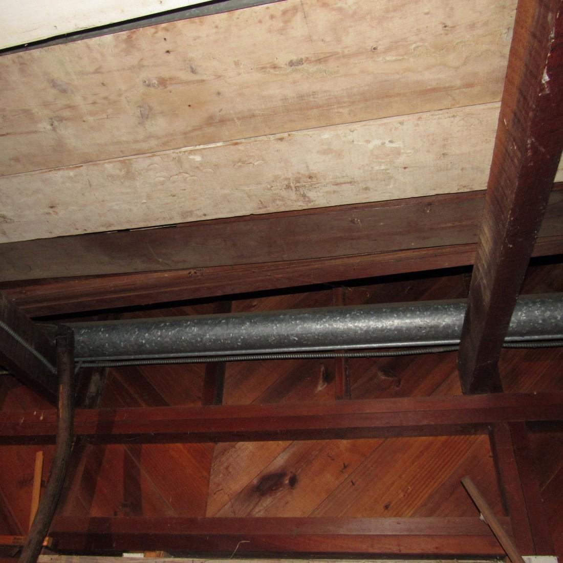 Contents of Top of Garage Mower Wood Door - 4