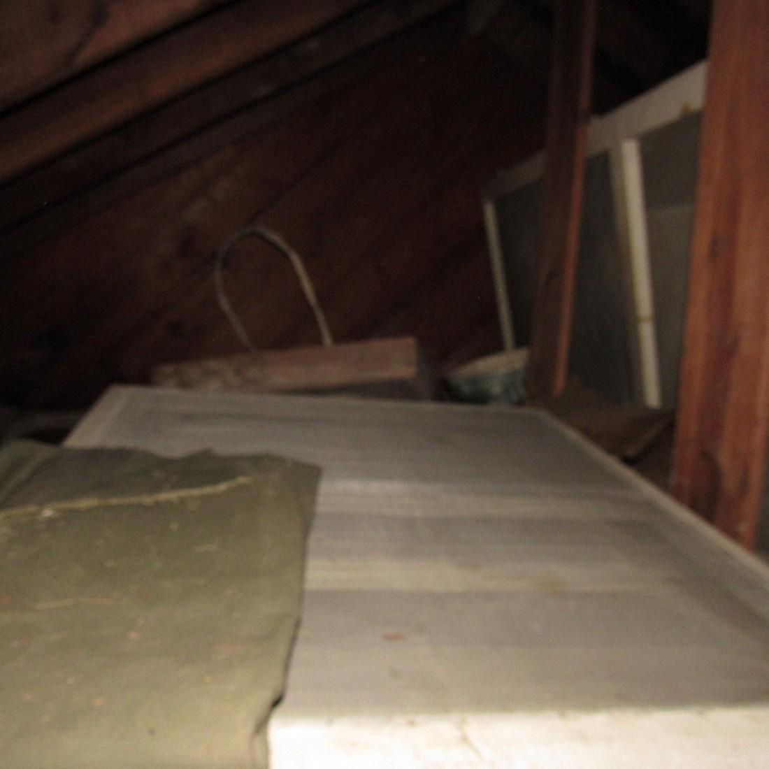 Contents of Top of Garage Mower Wood Door - 5