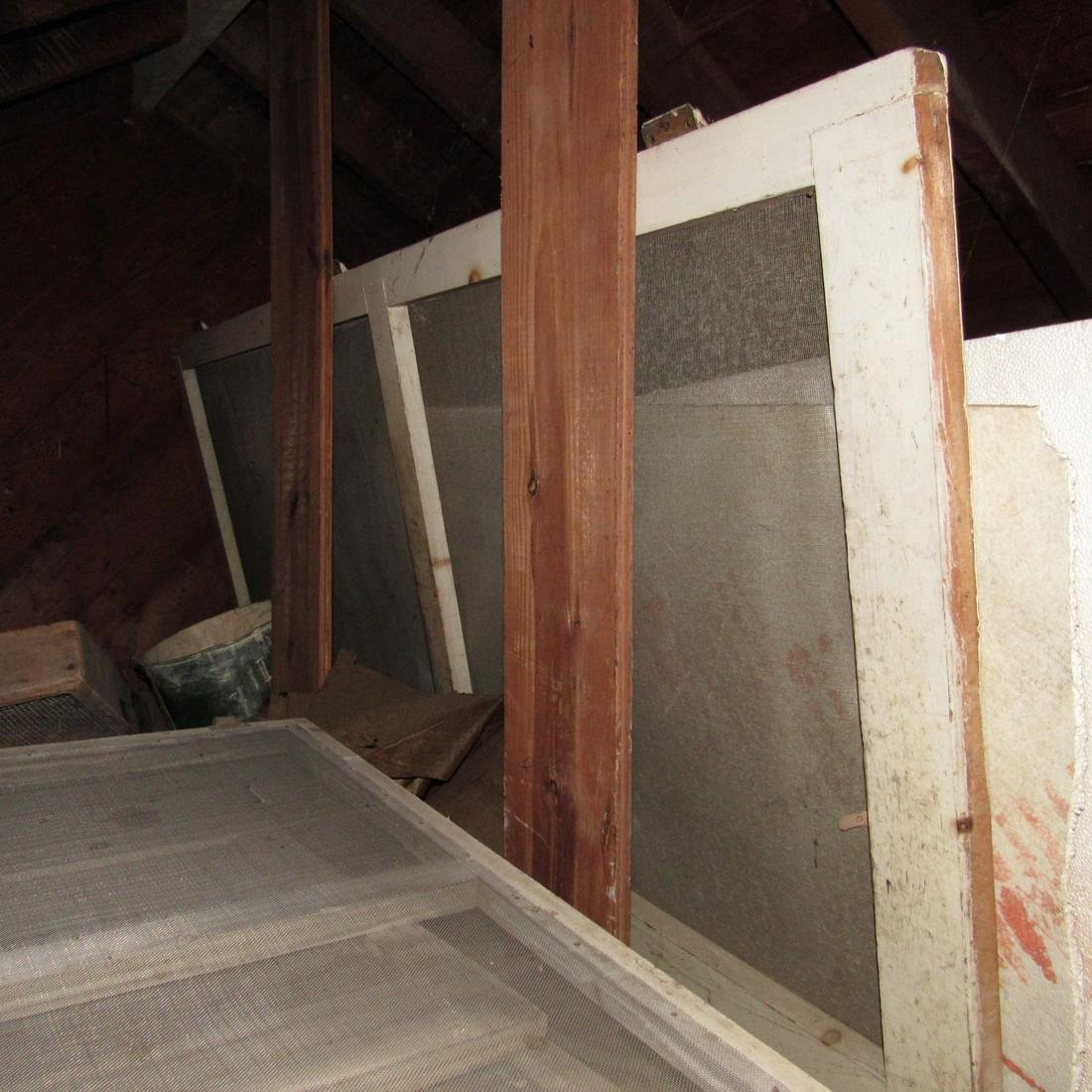 Contents of Top of Garage Mower Wood Door - 7