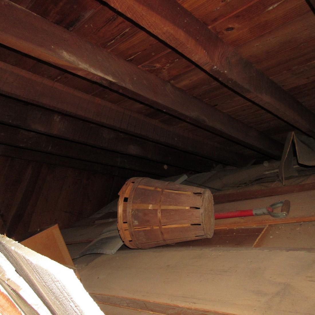 Contents of Top of Garage Mower Wood Door - 8