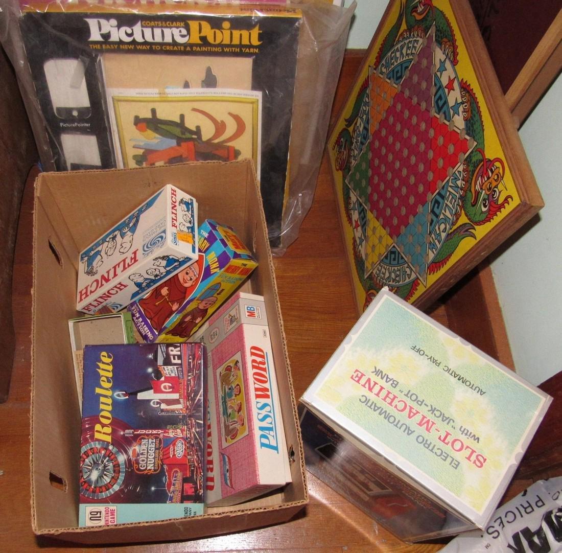 Lot of Vintage Toys Games - 10
