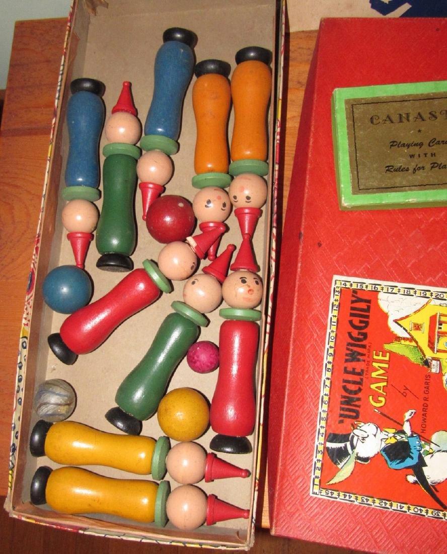 Lot of Vintage Toys Games - 2
