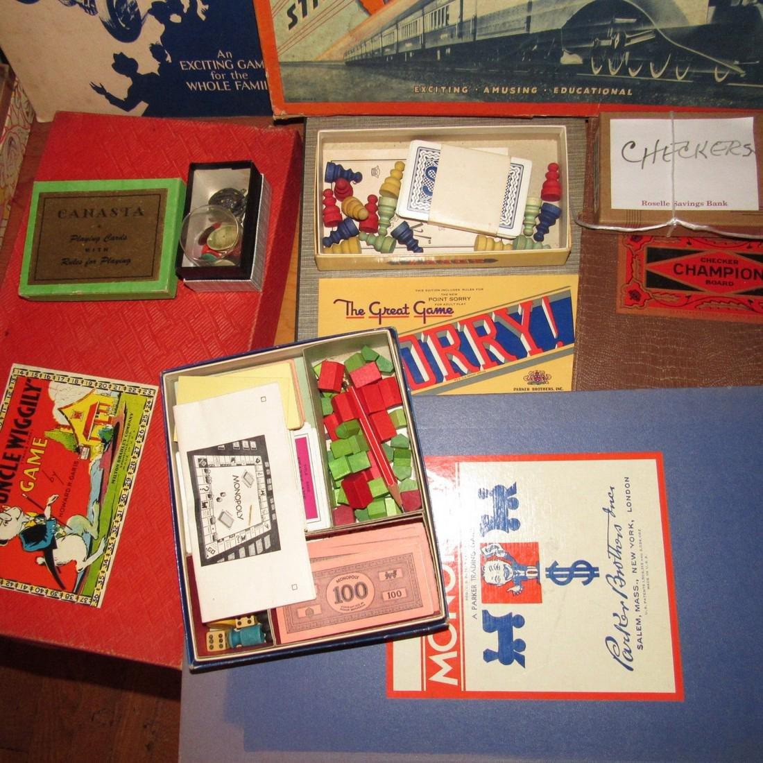 Lot of Vintage Toys Games - 3