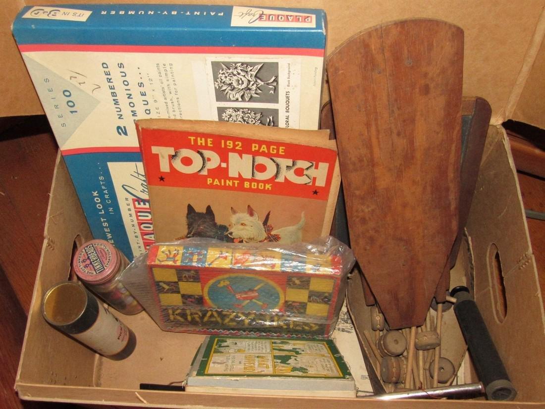 Lot of Vintage Toys Games - 4