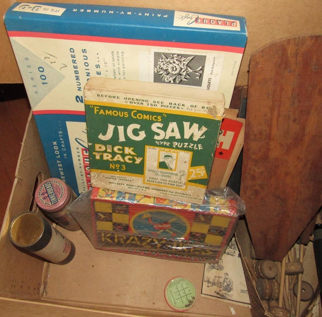 Lot of Vintage Toys Games - 6