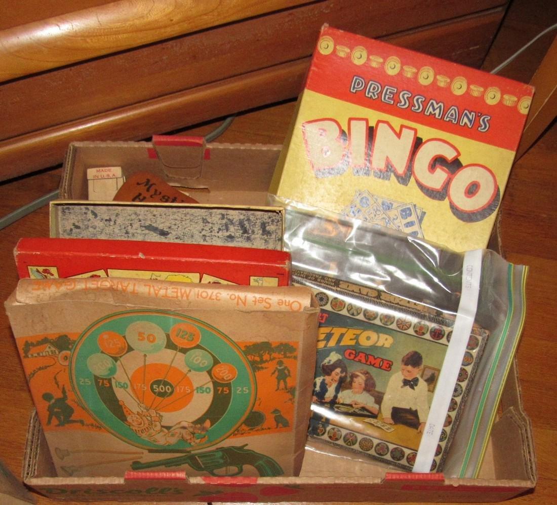 Lot of Vintage Toys Games - 8