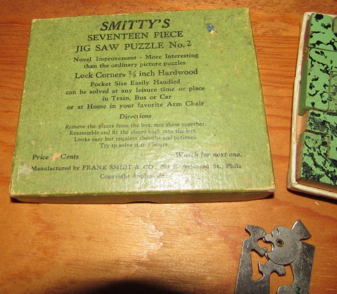 Maxwell Cowboy Boot & Smittys Jig Saw Puzzle - 3
