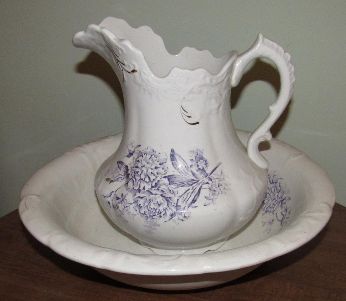 Bowl & Pitcher Set