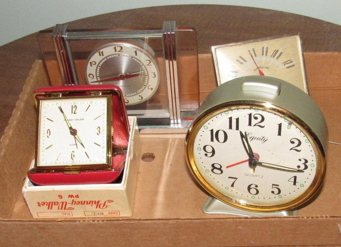 Vintage Alarm Clocks Equity Phinney Walker