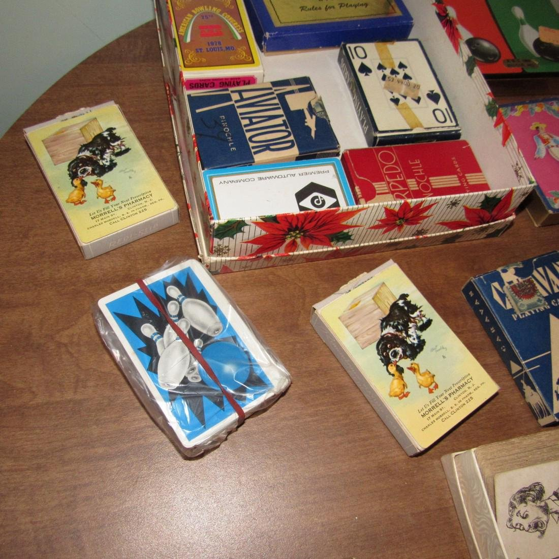 Large Lot of Playing Cards incl. MG Austin - 3