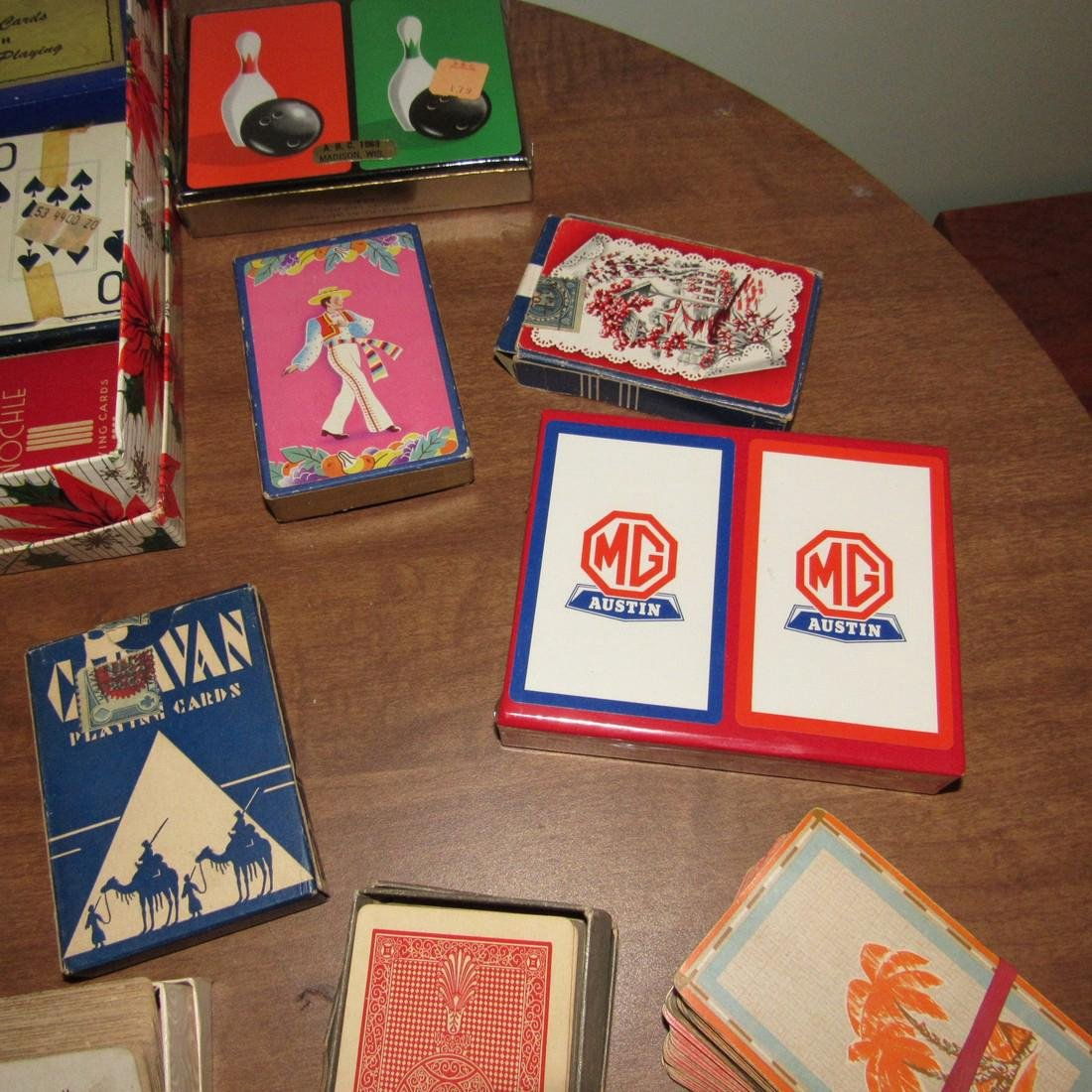 Large Lot of Playing Cards incl. MG Austin - 4