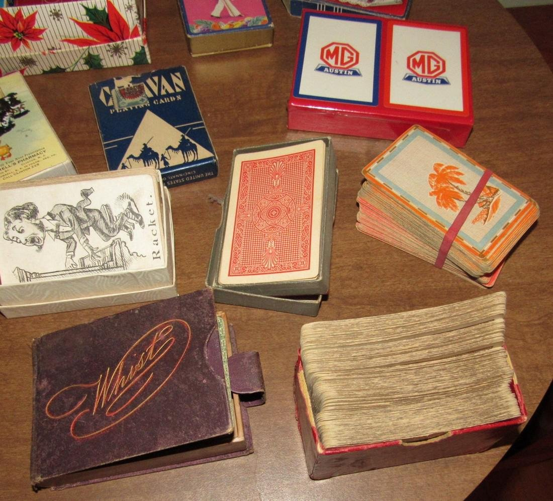 Large Lot of Playing Cards incl. MG Austin - 5