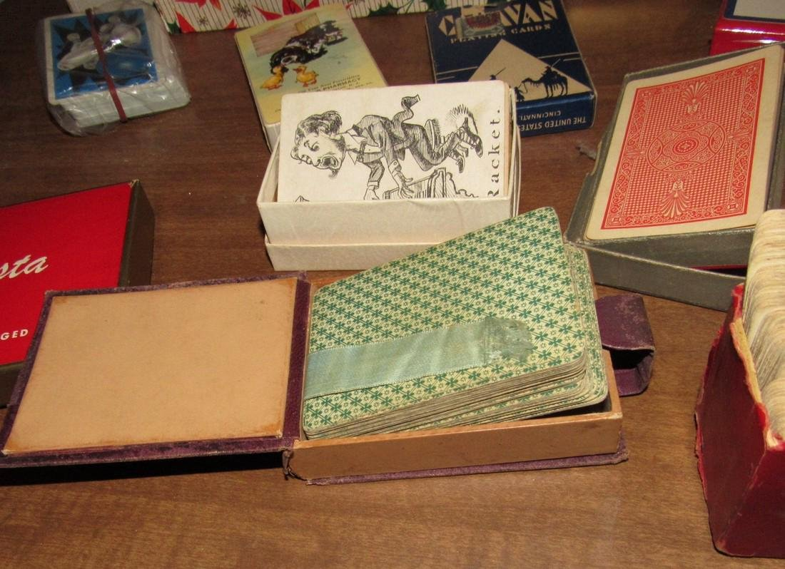 Large Lot of Playing Cards incl. MG Austin - 8