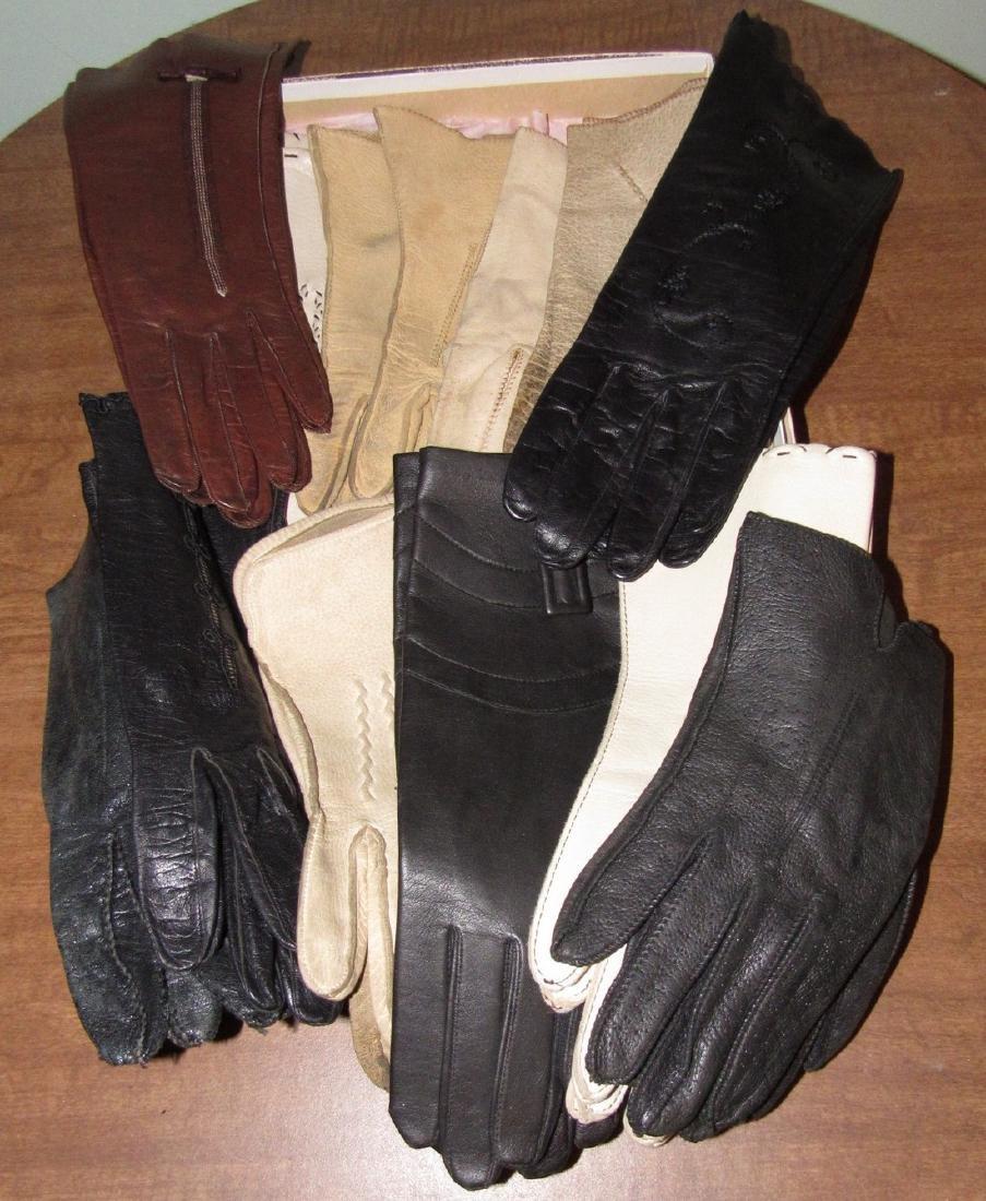 Vintage Gloves & Cameo Panty Hose