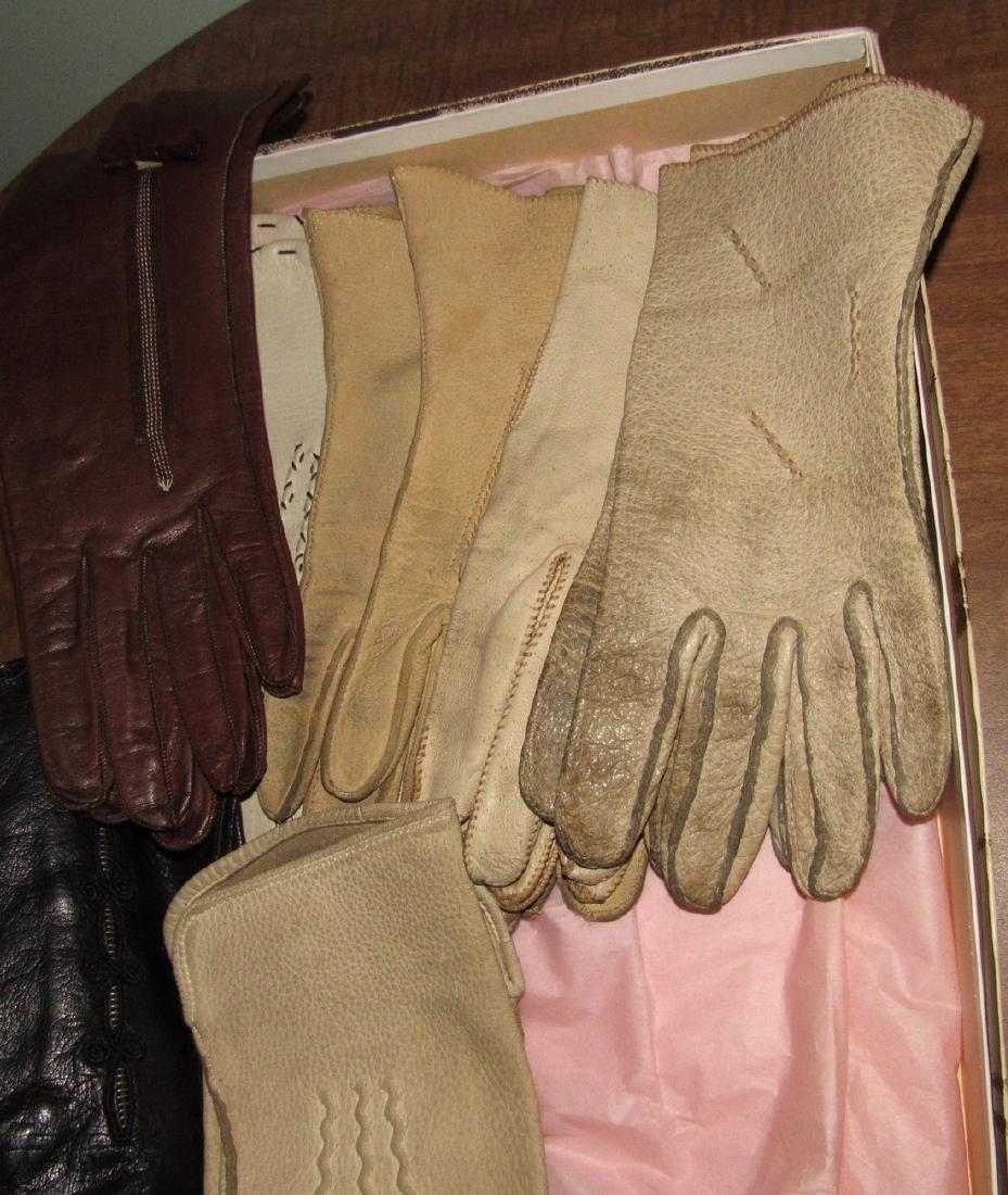 Vintage Gloves & Cameo Panty Hose - 2