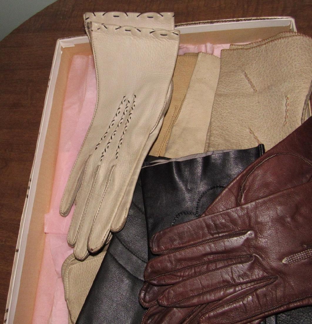 Vintage Gloves & Cameo Panty Hose - 3
