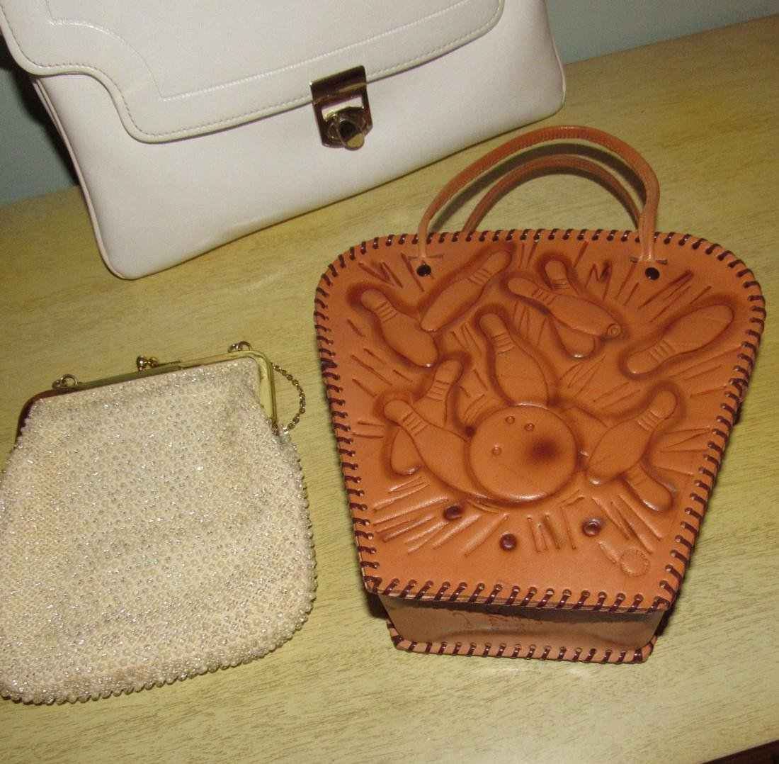 Vintage Purses Alligator Bowling - 3