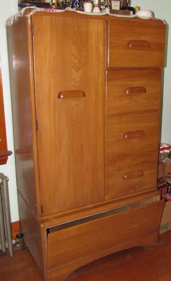 1950's Bedroom Set Vanity Dresser Bed