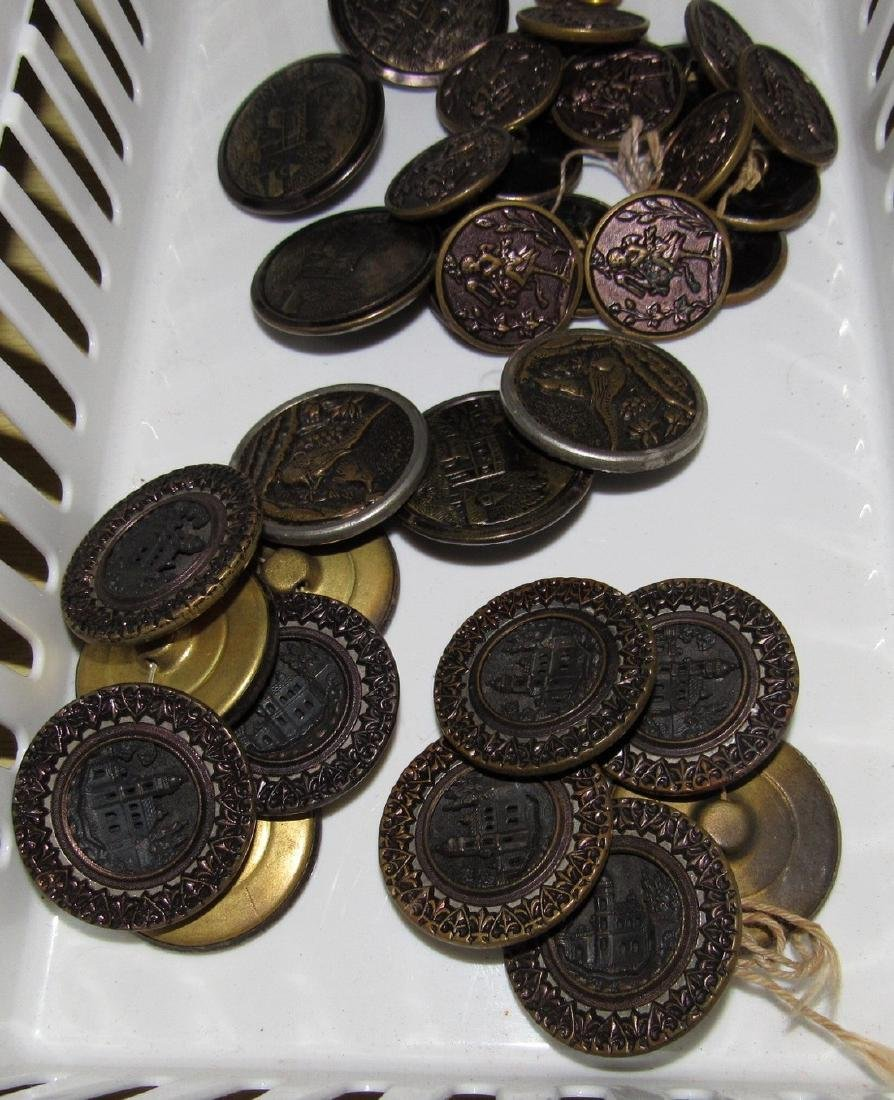 Lot of Vintage Buttons - 3