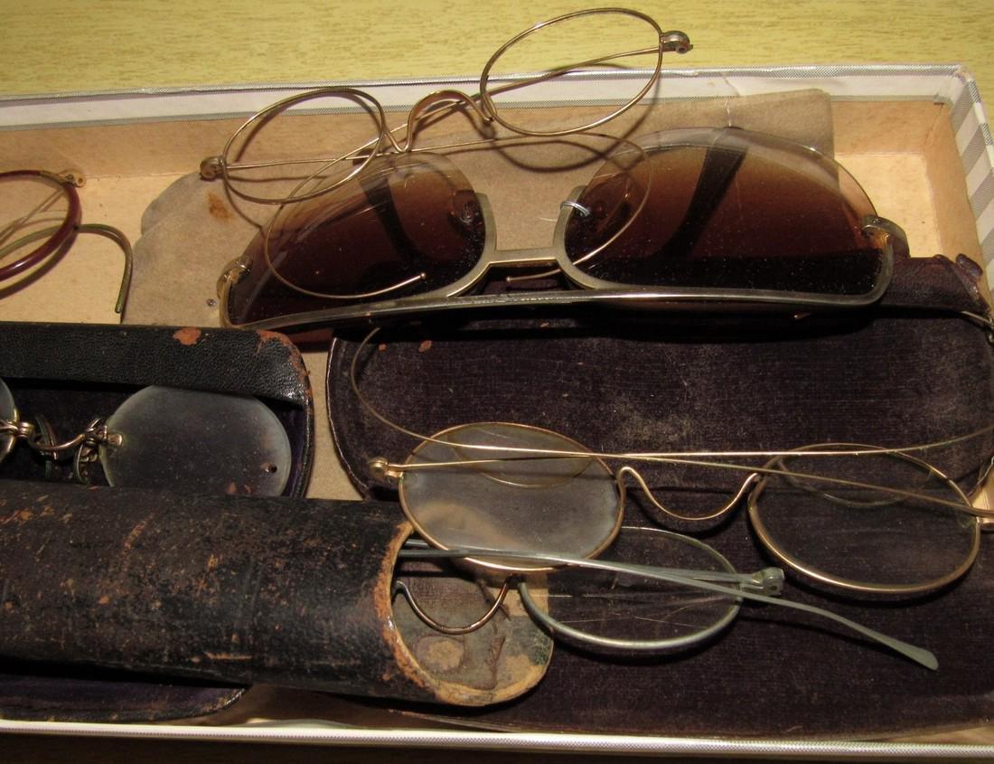 Antique Eyeglasses Lot - 3