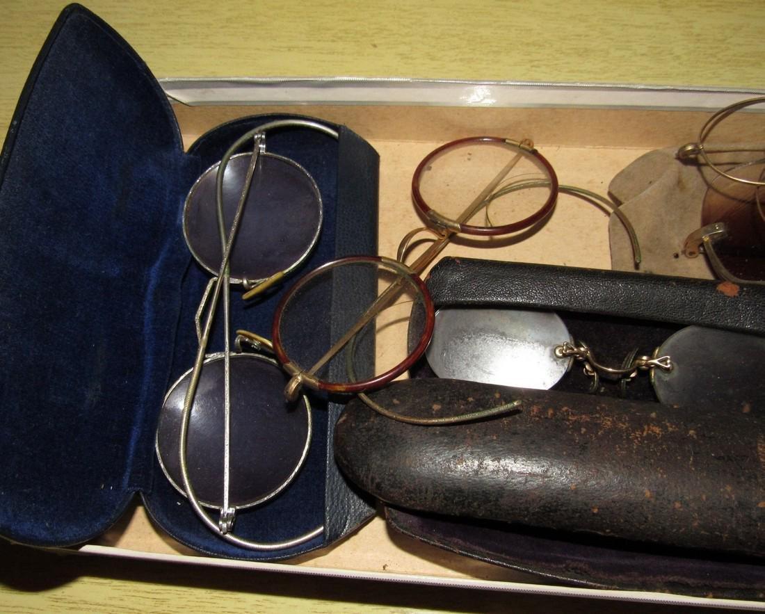 Antique Eyeglasses Lot - 4