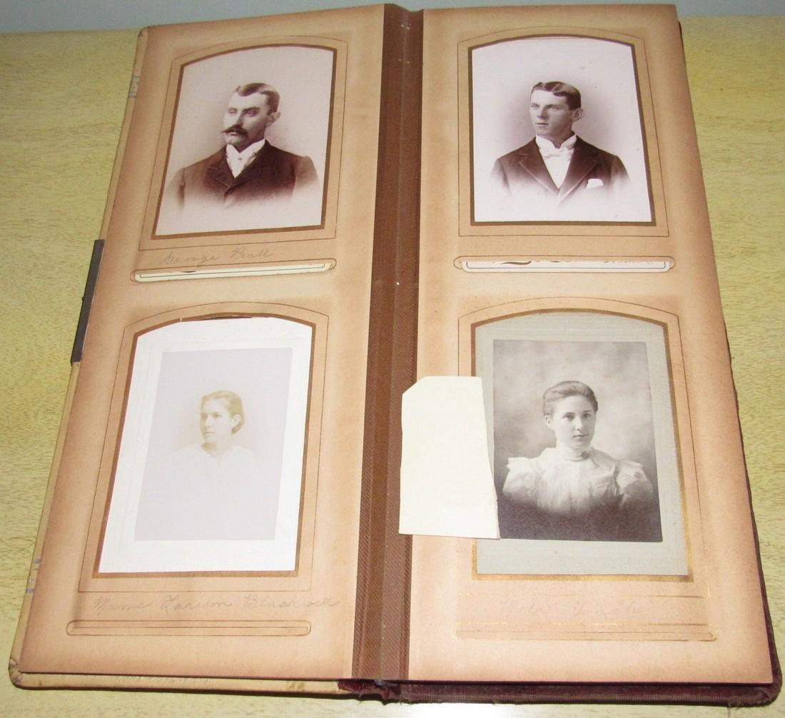 Antique Photo Album w/ Pictures - 4
