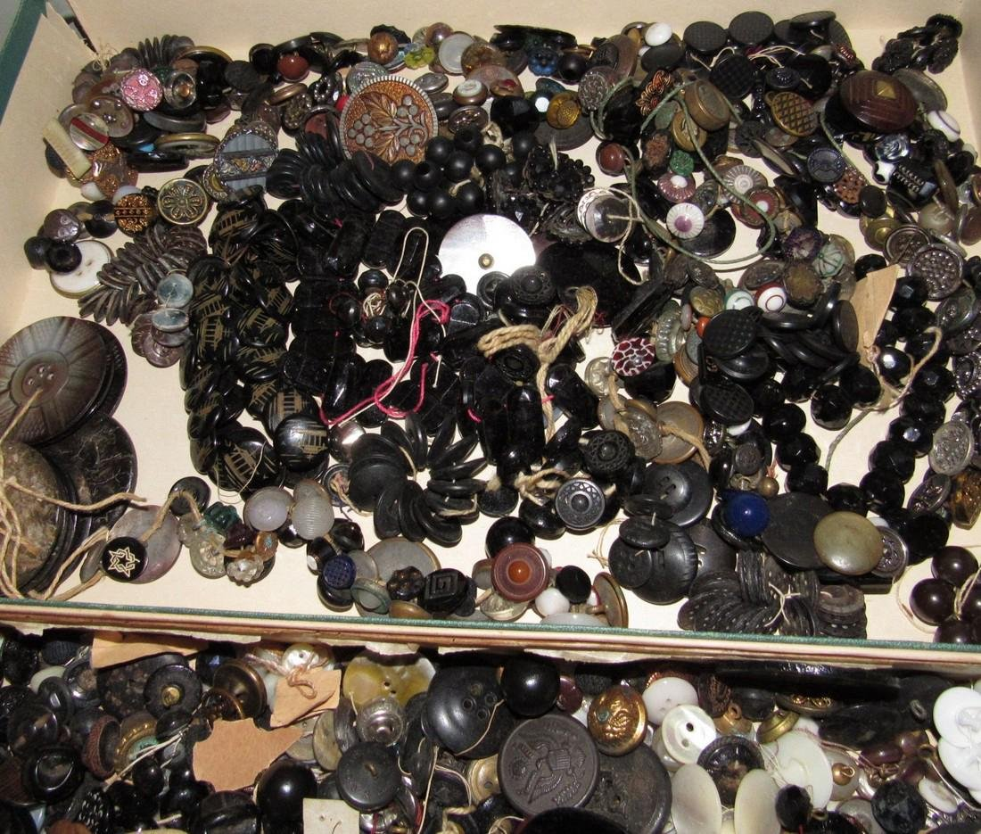 Large Lot of Buttons - 2