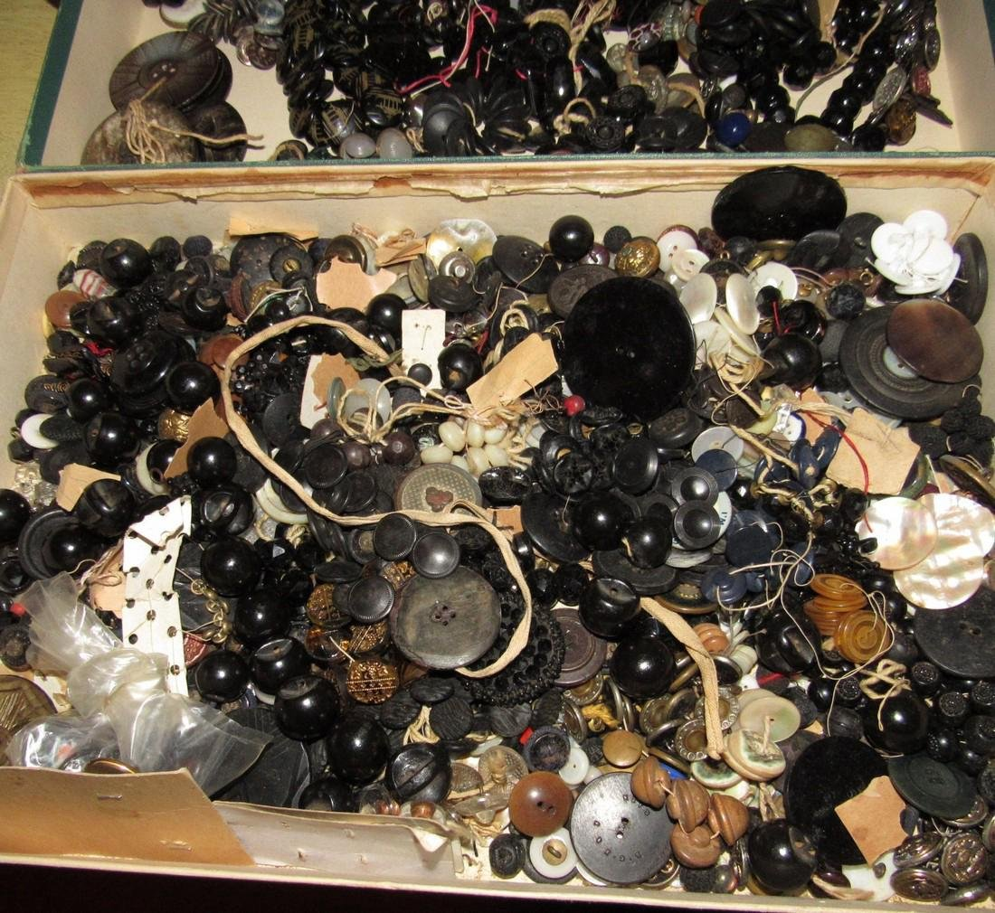 Large Lot of Buttons - 3
