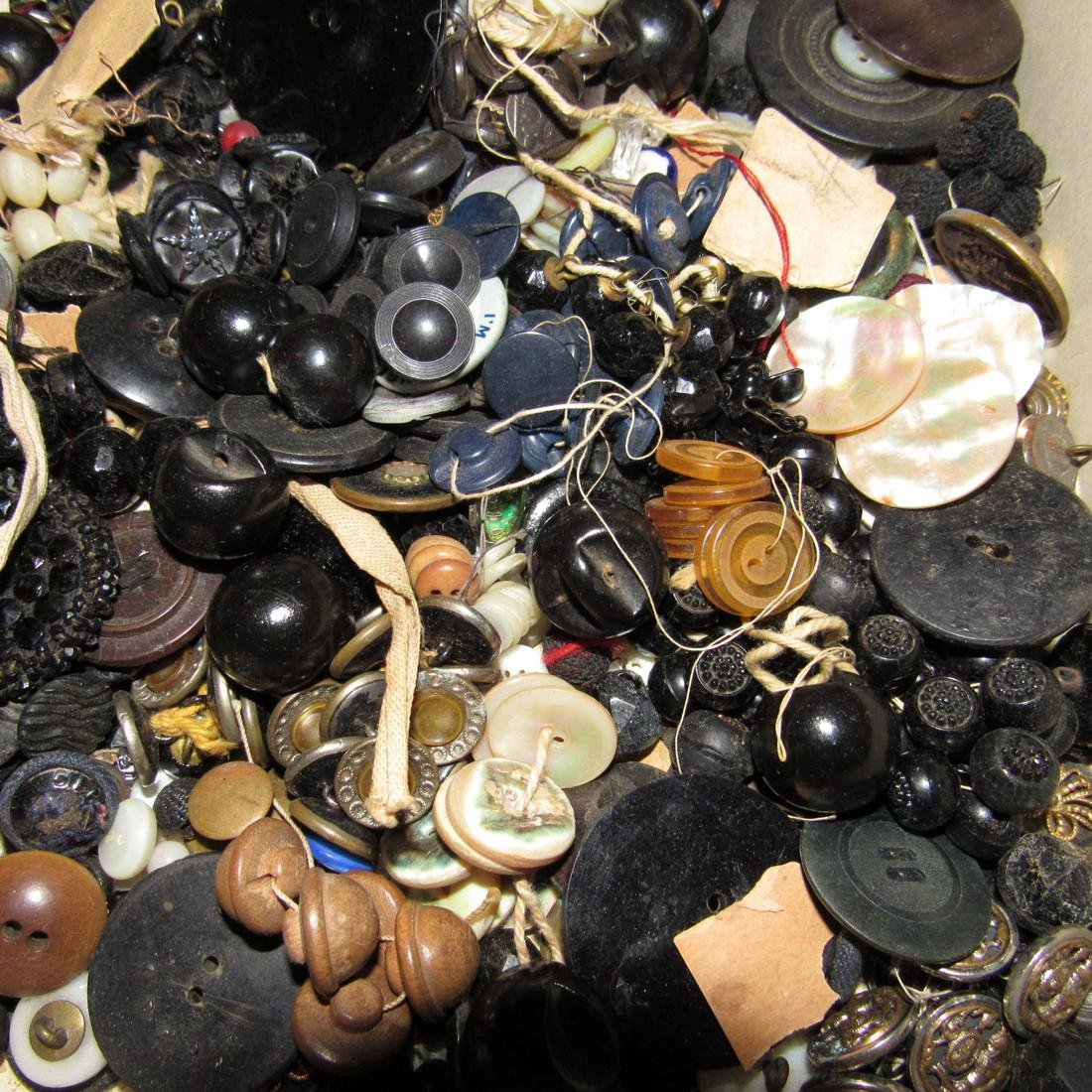 Large Lot of Buttons - 4