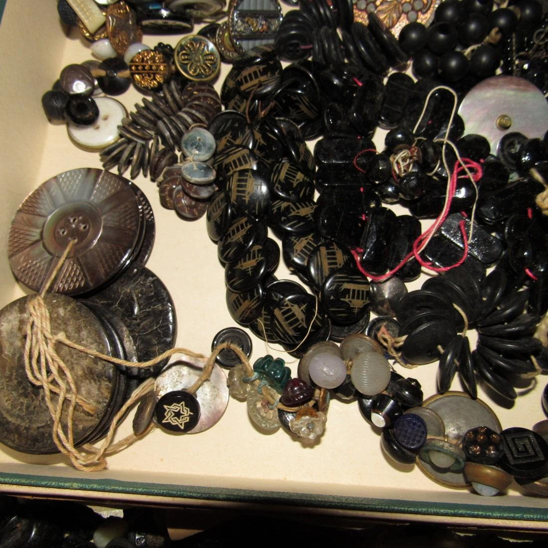 Large Lot of Buttons - 8