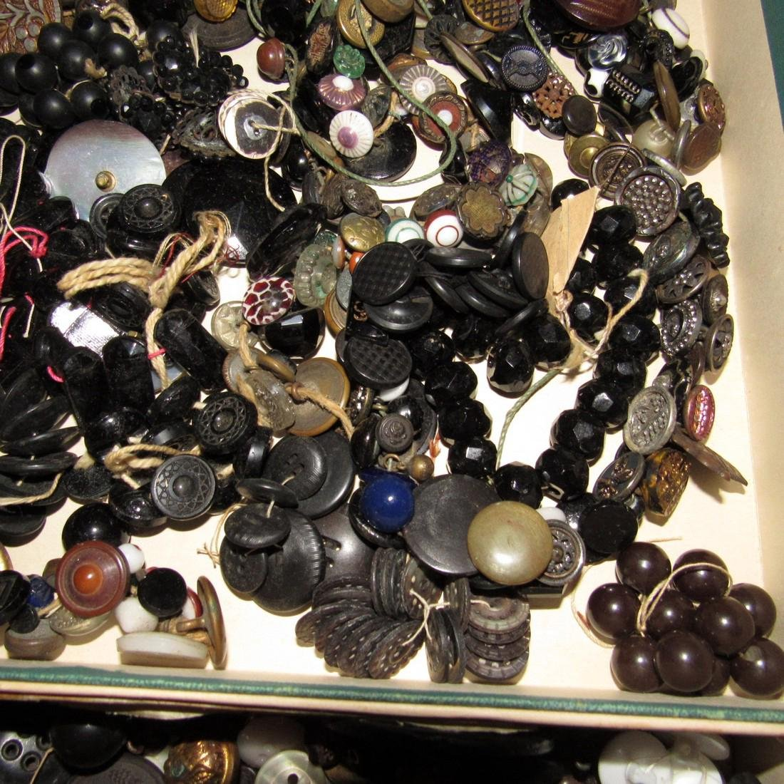 Large Lot of Buttons - 9