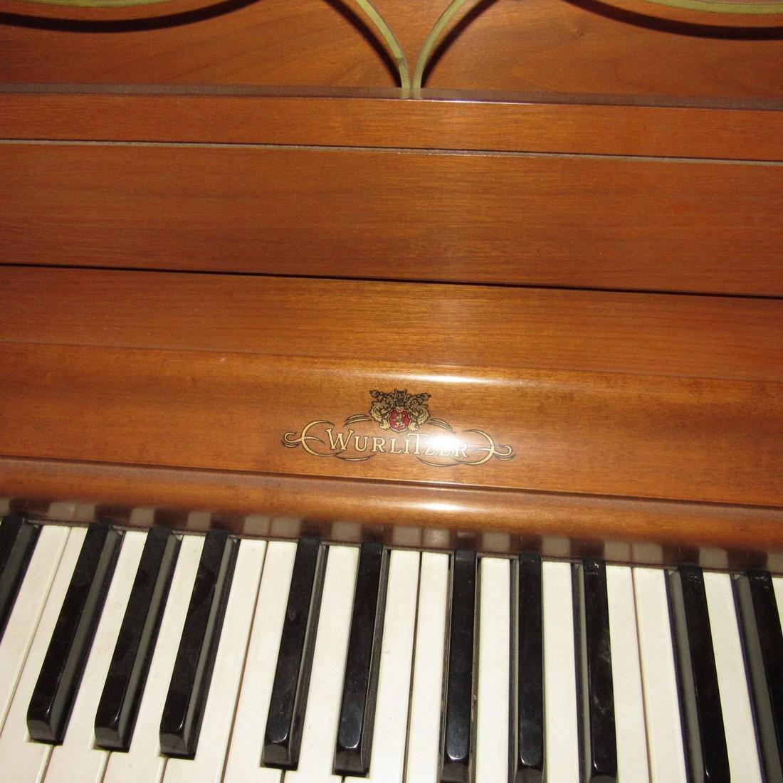 Wurlitzer Piano Bench Seth Thomas Metronome - 4