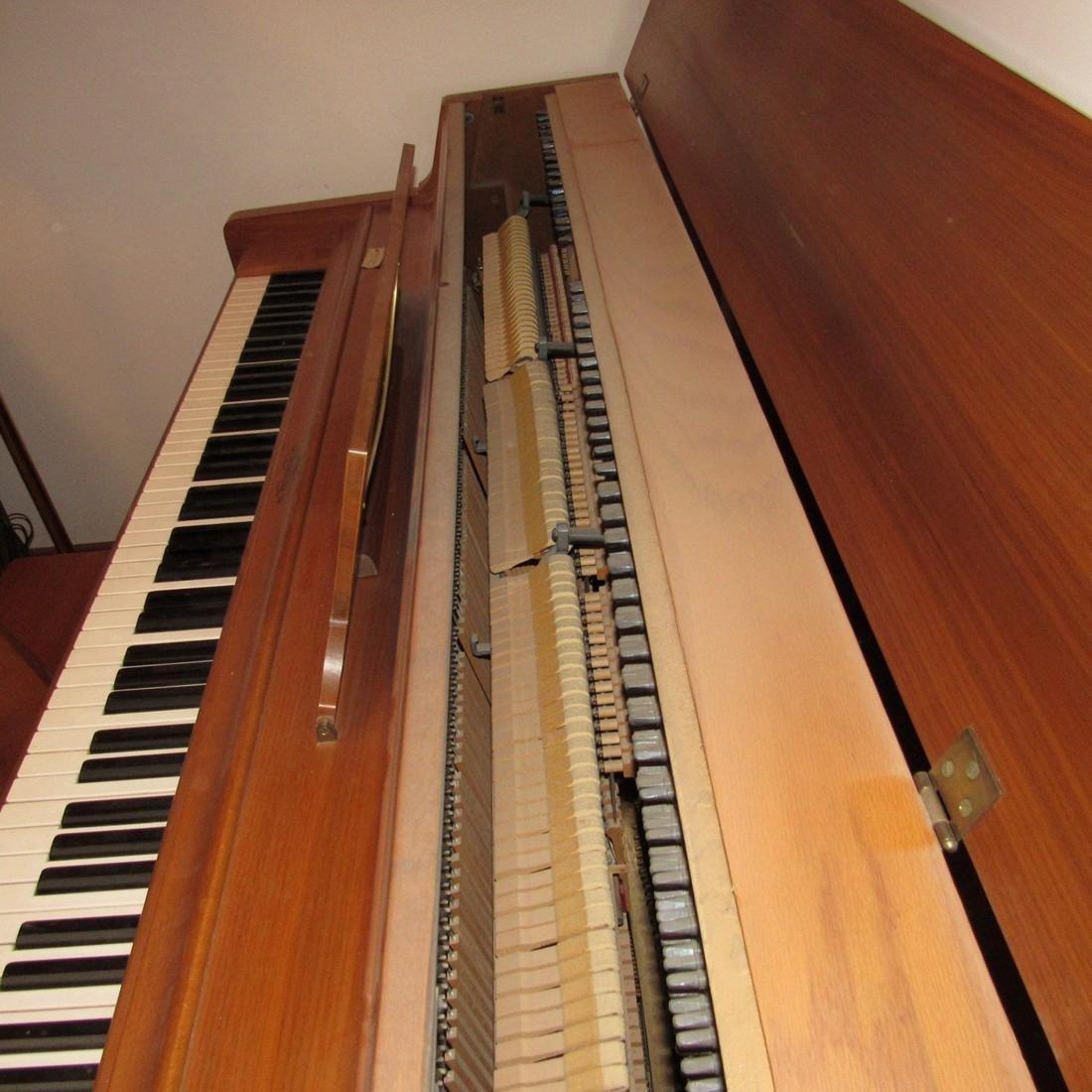 Wurlitzer Piano Bench Seth Thomas Metronome - 6