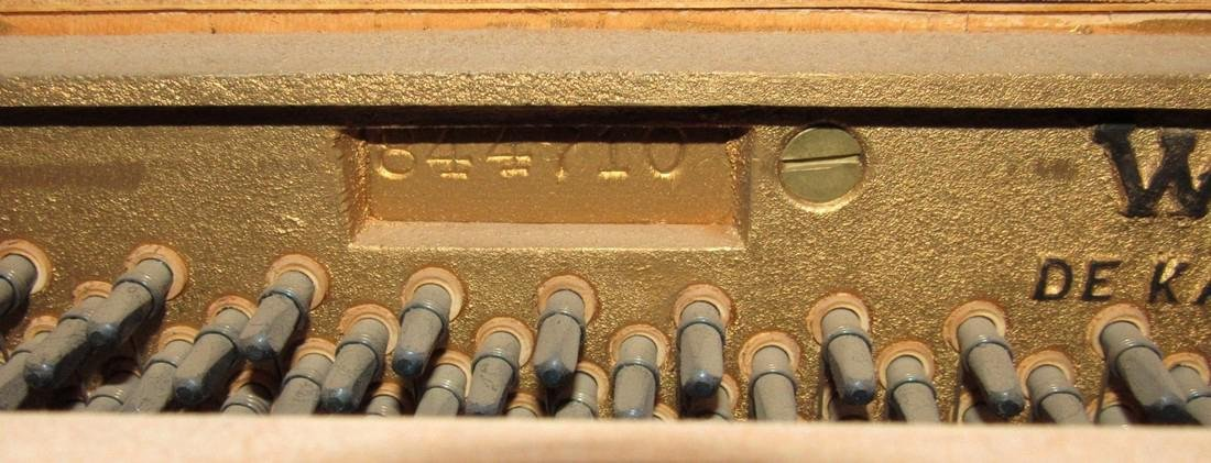 Wurlitzer Piano Bench Seth Thomas Metronome - 7