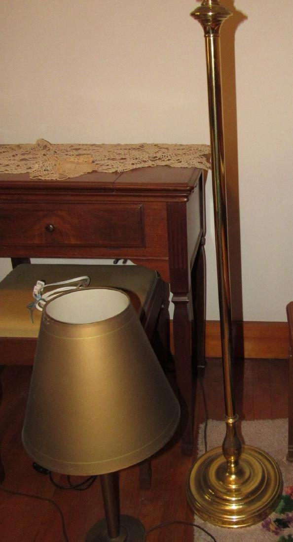 Floor Lamp & 2 Table Lamps - 3