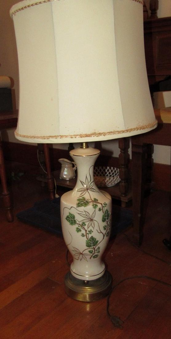 Floor Lamp & 2 Table Lamps - 5