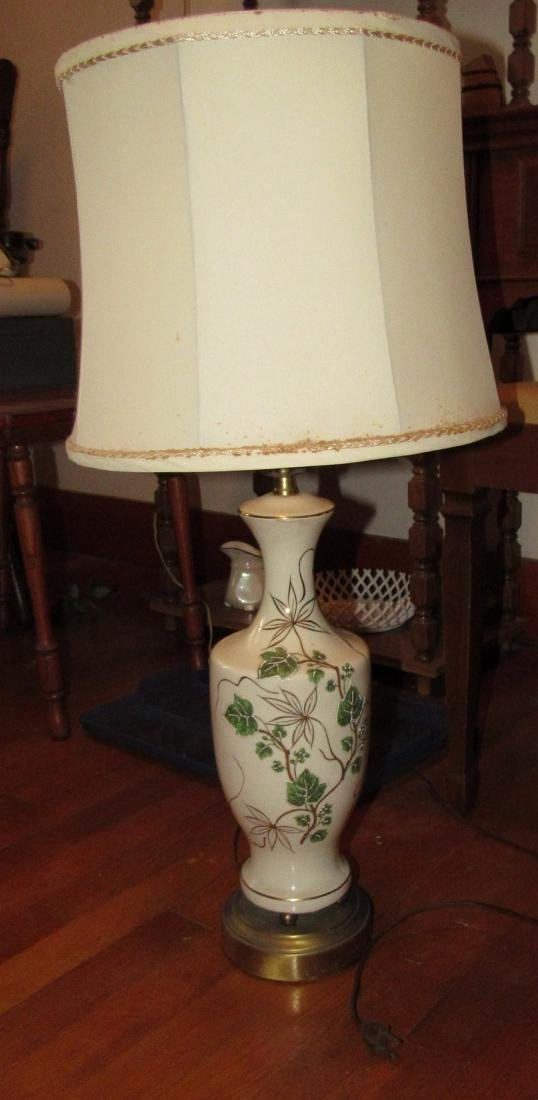 Floor Lamp & 2 Table Lamps - 6