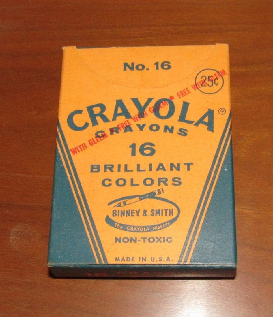 Crayola No. 16 Crayons Binney & Smith