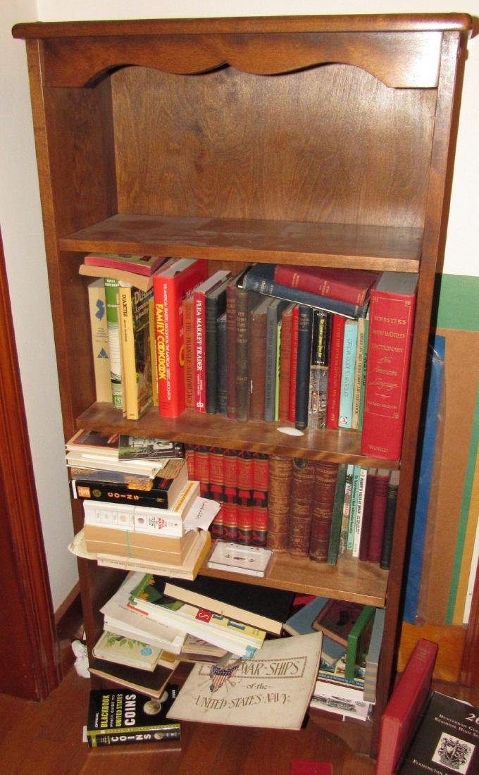 Book Shelf w/ Books