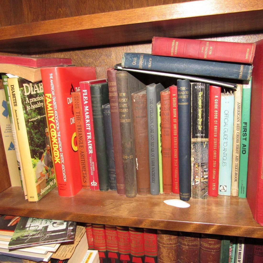 Book Shelf w/ Books - 2