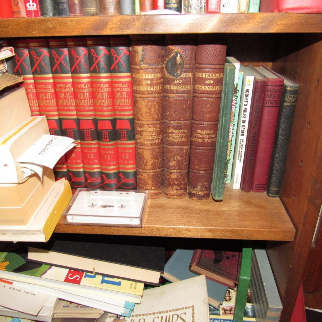 Book Shelf w/ Books - 3