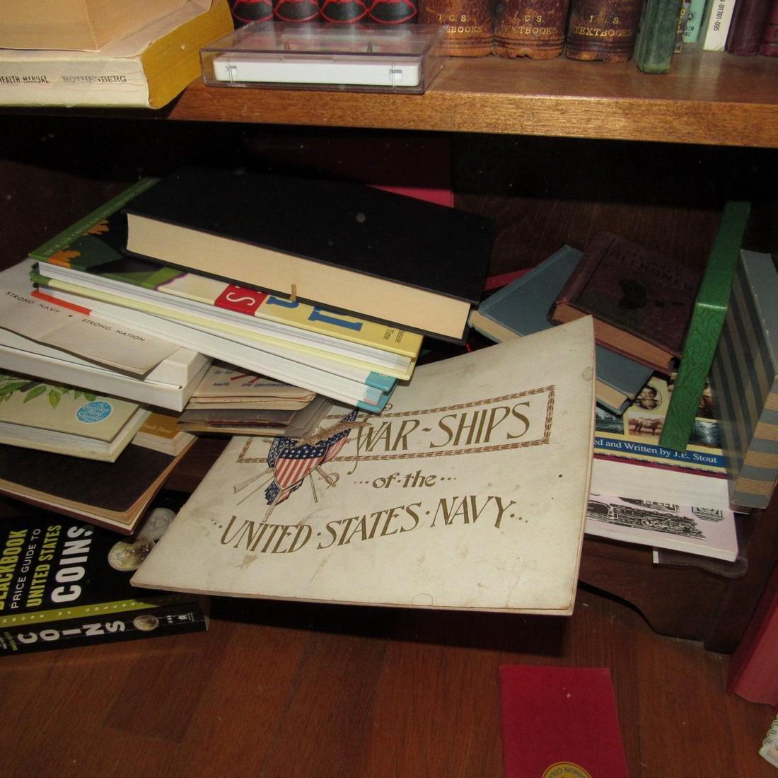 Book Shelf w/ Books - 4