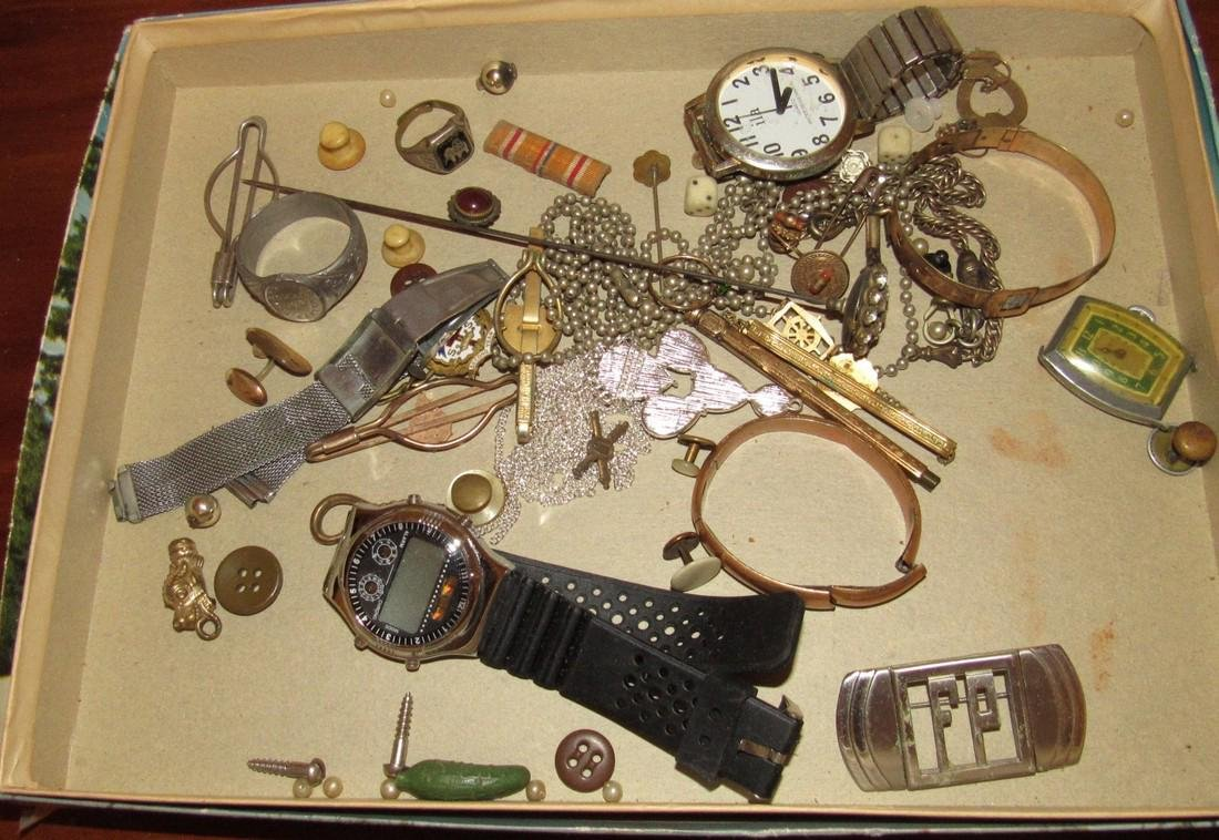 Jewelry Watches Rings Lot