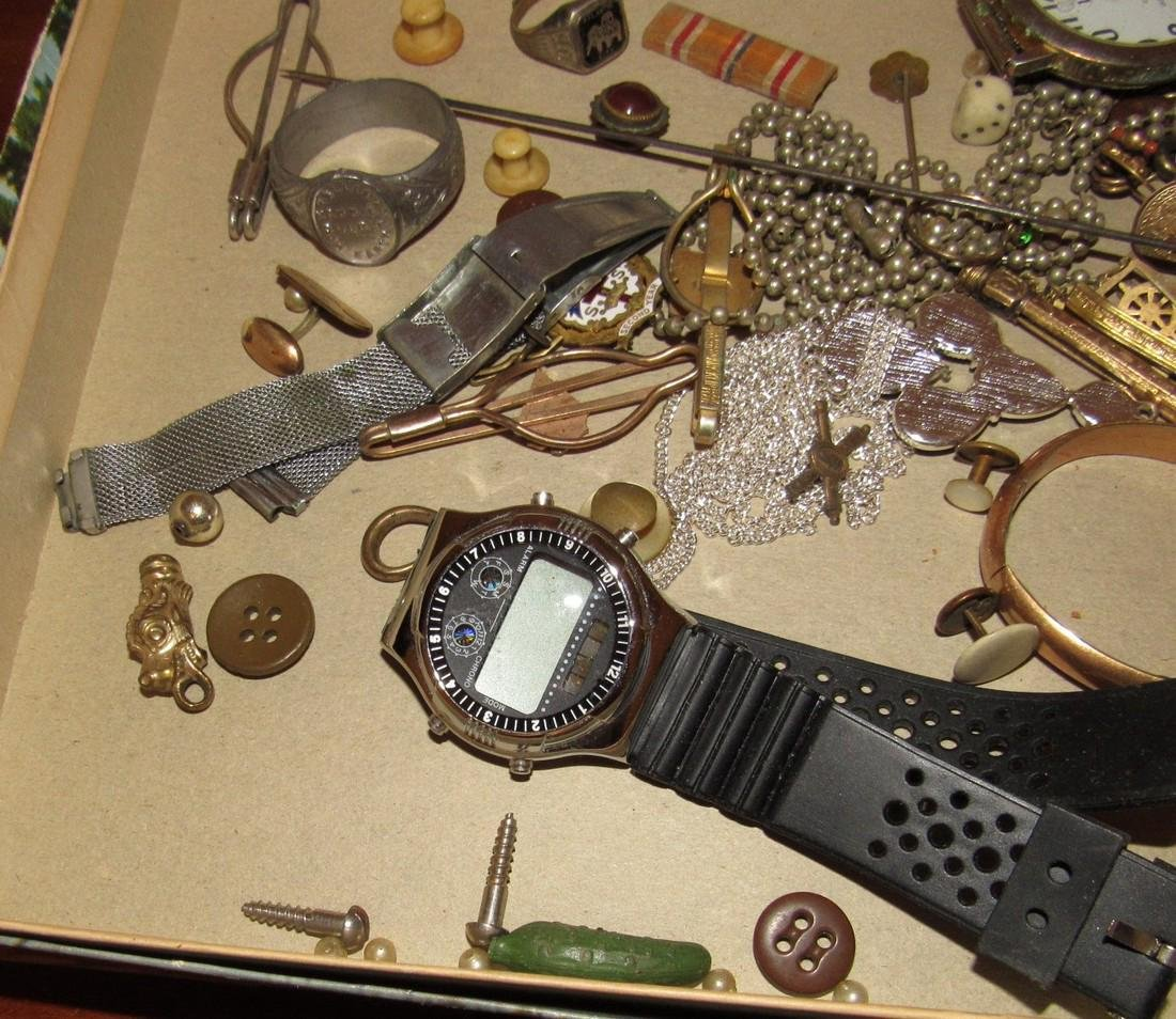 Jewelry Watches Rings Lot - 5