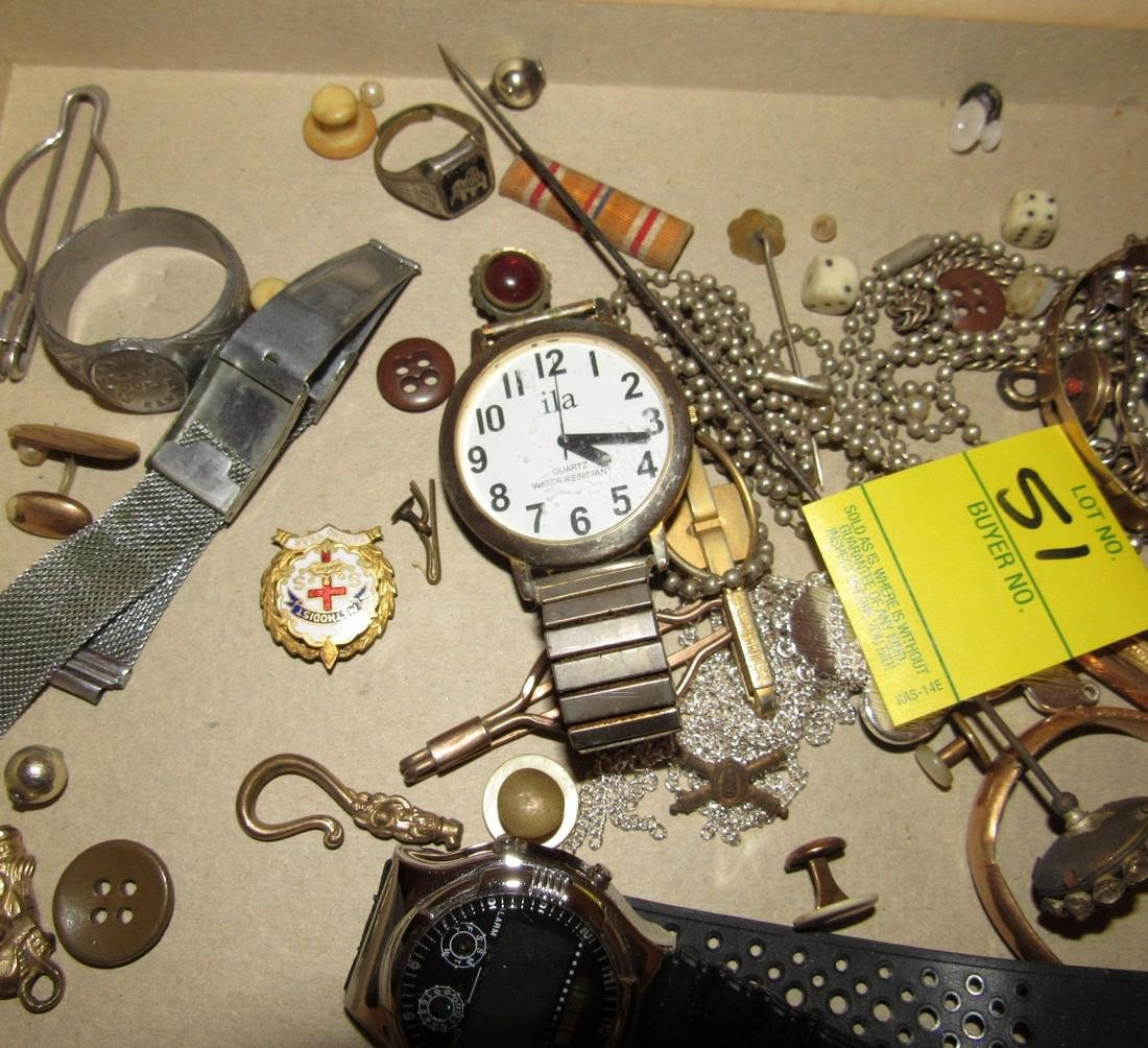 Jewelry Watches Rings Lot - 7