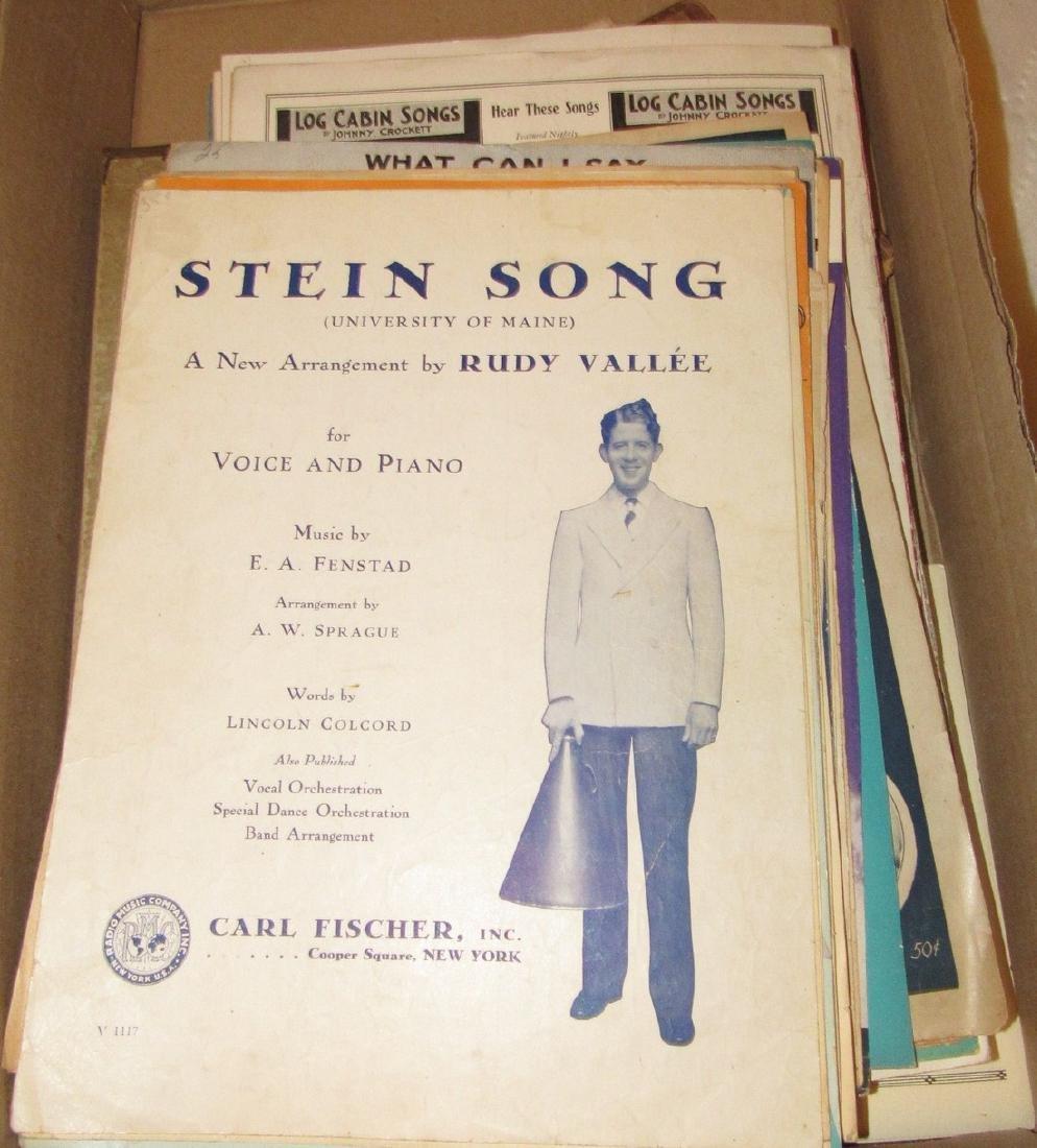 Box of Sheet Music - 2