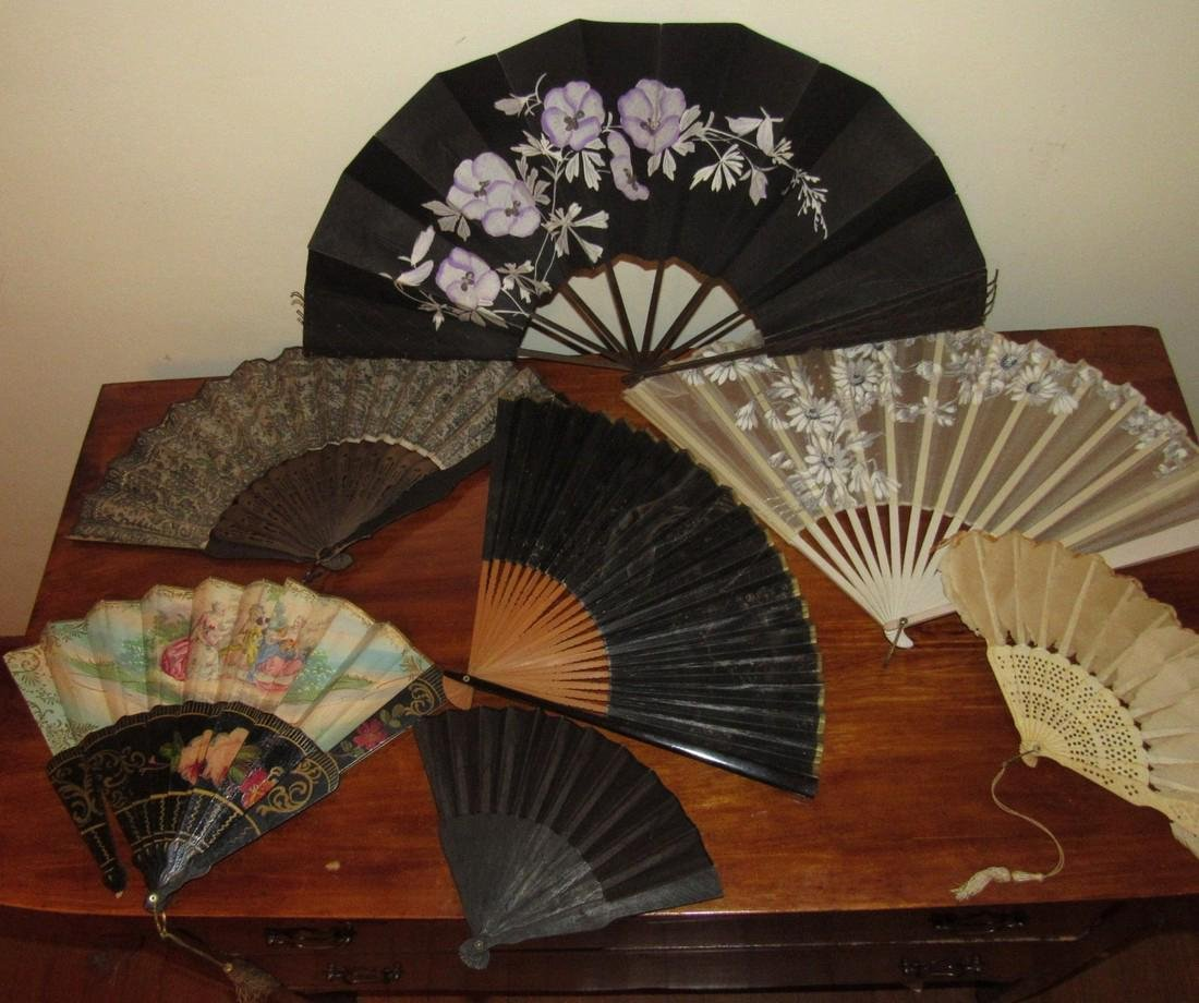 Lot of Hand Fans